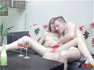 barely legal Videoz - Alexis Crystal - Morning coffee and hump