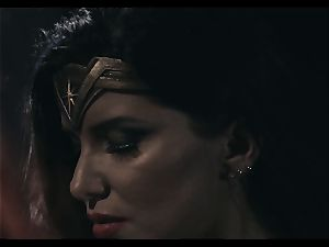 Justice League gonzo part three - Romi Rain and Charlotte Stokley