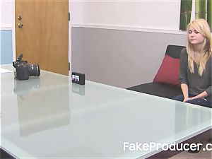 FakeProducer audition lil' platinum-blonde sweetheart Chloe Foster