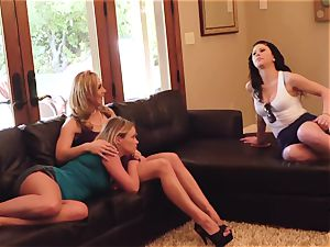 SEXYMOMMA - molten mother boinks and cums with two honies