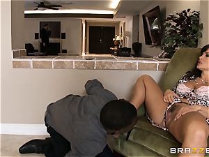 cheating wife Lisa Ann multiracial plow