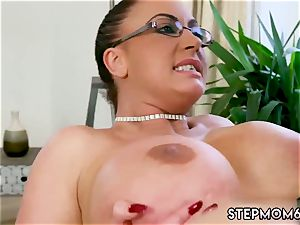 Step mummy bought me a stripper ginormous titty Step-Mom Gets a massage