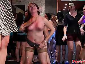 european queen at a soiree nailed by ebony stiffy