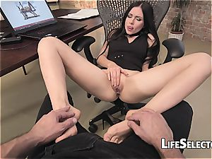 porking a Russian ultra-cutie in point of view