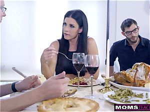 mommy humps sonny And eats creampie For Thanksgiving treat