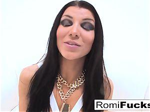 gonzo orgy with porno starlet Romi Rain
