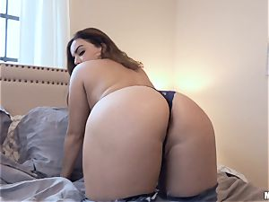 Natasha super-cute riding on top