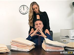 secretary Nicole Aniston ravaged in the pussyhole