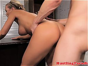 Nicole Aniston seducing scotts chisel