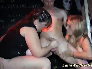 extreme giant titty latina lovemaking display