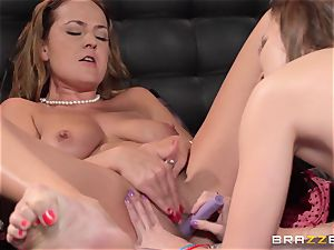 nanny Lily enjoy gets poked by Elexis Monroe