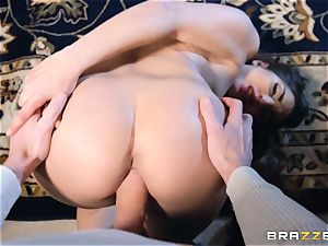 Smoking hot brown-haired Jimena Lago point of view