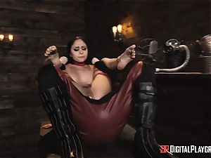 mischievous superhero romp with Ariana Marie and Xander Corvus