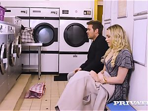Private.com - Mia Malkova gets screwed in the laundry
