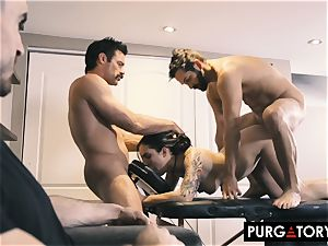 PURGATORY I let my wifey plumb two dudes in front of me