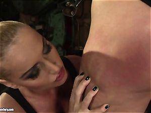 Kathia Nobili tart use flog to a naughty babe