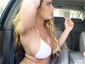 Corrina Blake produces an in car thankyou plumb