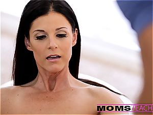 Moms instruct bang-out - super-sexy mother exchanges jizm with daughter