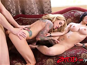cougar threesome what a pummeling soiree