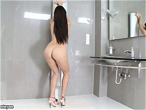 unbelievable Aletta Ocean adds some sparkle to her assets
