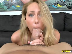 Carter Cruise gets her gullet round a monster