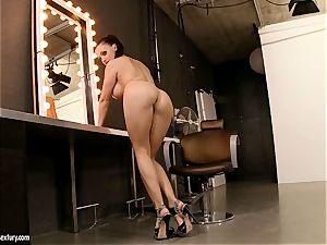 big jugged Aletta Ocean loves dipping her sexy frigs in her simmering hole