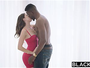BLACKED The hottest multiracial sloppy blow-job