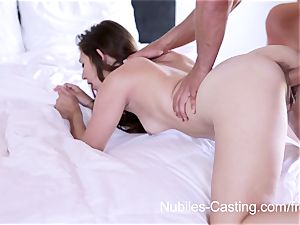Nubiles audition - xxx porno audition for new-cummer