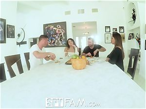 Spyfam Thanksgiving fuckfest with Anissa Kate