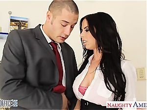 curvy Brandy Aniston ultra-kinky for pecker at the office