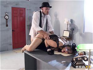Chanel Preston hankers Johnny Sins phat fuckpole