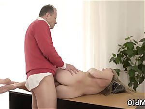 british ash-blonde bondage Stranger in a fat house knows how to hot you up