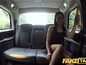 faux cab hasty pounding and internal ejaculation for peachy backside