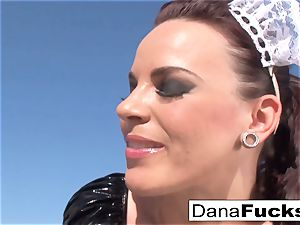 Dana the maid in a scorching sex