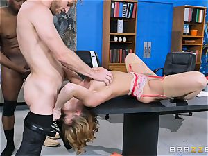 Britney Amber getting group humped