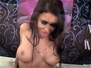 Romi Rain and Jessica Jaymes get down and sloppy