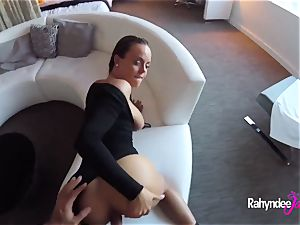 Rahyndee James swanky motel boning point of view
