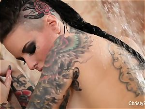 Christy Mack's super super-sexy douche taunt