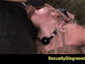 FetishNetwork Marsha May harsh slave teaching session