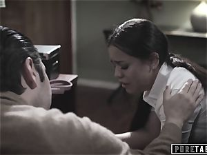 pure TABOO school Counselor Takes Advantage of nubile