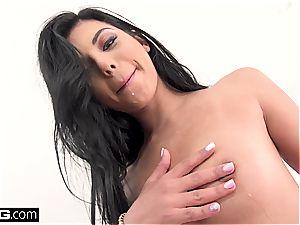 Gina Valentina gets every hole slammed and boinked