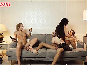 LETSDOEIT - naughty wifey Gets plowed xxx By Swingers
