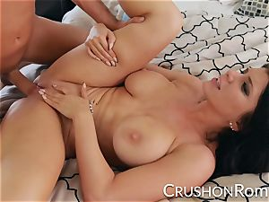 crush nymphs - Romi Rain enjoys a supreme hard pummeling