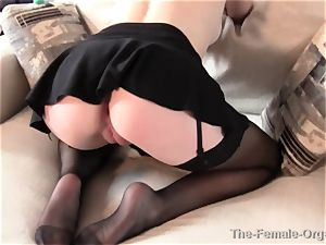 Real milf Lactates and drains to orgasm