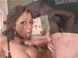 groaning and shrieking Priya Rai popped in the puss by headteacher