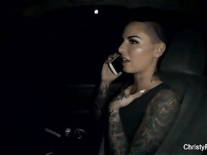 Throwback bts footage with Christy Mack