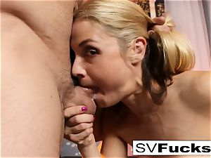 Sarah Vandella gets nailed rock-hard