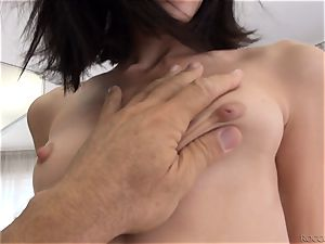 Erian backside tonguing Rocco Siffredi