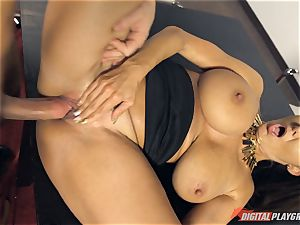 hot office stunner Ava Addams banged deep in her pussy pie pudding