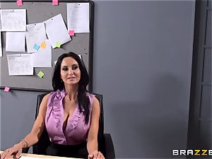 busty teacher Ava Addams is plowed by her student